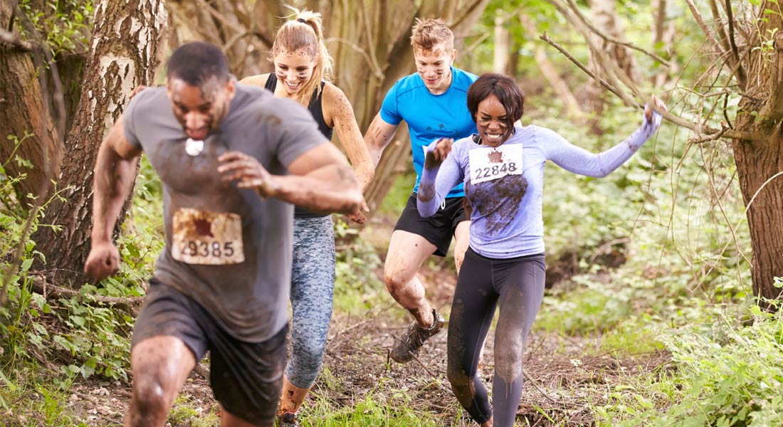 Train for mud runs to avoid injuries