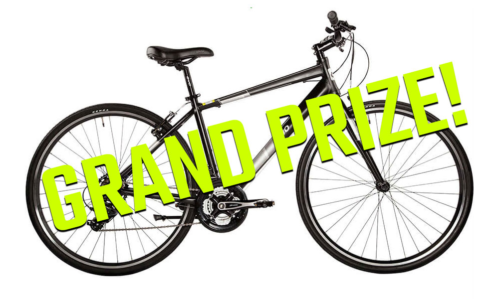 2018 Spring Fitness Challenge Grand Prize - Evo Grand Rapid 3 Bicycle