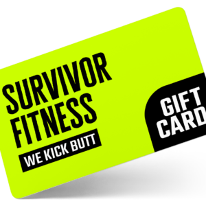 Survivor Fitness Gift Card